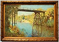 "National Gallery of Australia - Joy of Museums - ""Bridge and Wattle at Warrandyte"" by Penleigh Boyd.jpg"