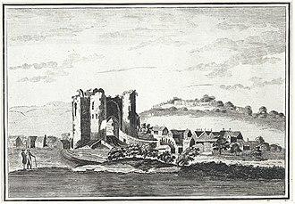 Neath Castle - Image: Neath Castle, in Radnorshire i.e. Glamorganshire