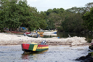 Negril - Negril fishing boats