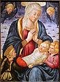 Neri di bicci, madonna col bambino e angeli, post 1460, 02.jpg