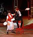 Nestroy 2009 (10), David Larible, Claudius von Stolzmann.jpg