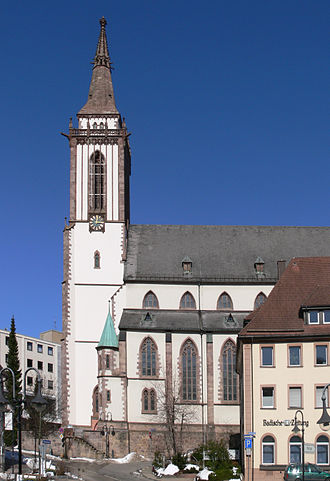 Titisee-Neustadt - Neustadt cathedral