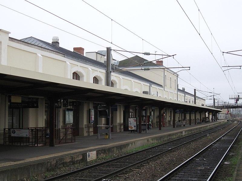 Gare de Nevers, Nièvre, France