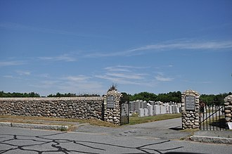 Jewish Cemetery of New Bedford - Image: New Bedford MA Jewish Cemetery 2
