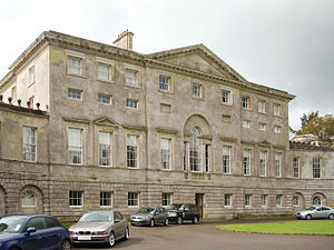 Cranborne Chase School - Image: New Wardour Castle 01