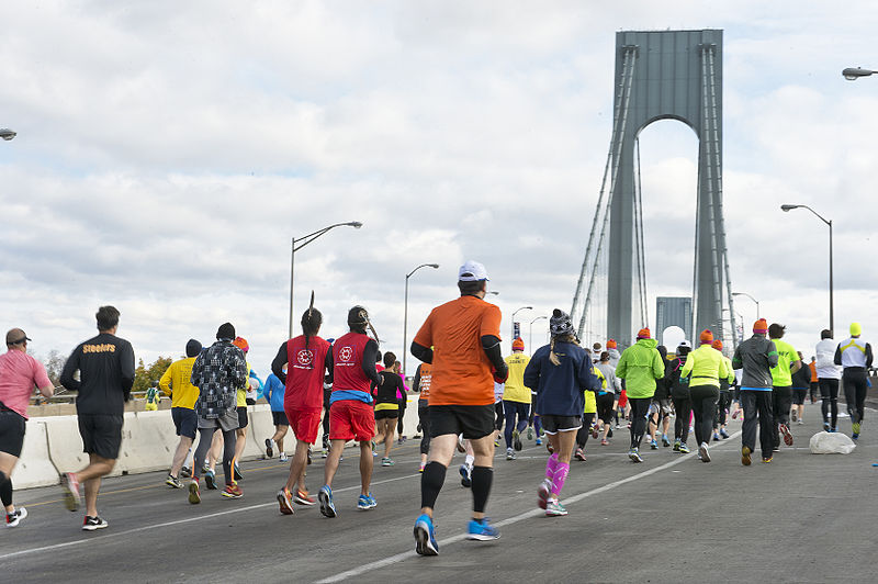 File:New York City Marathon 2014 (15082977714).jpg
