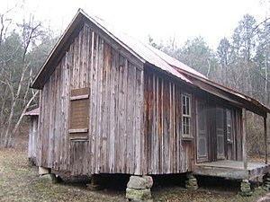 National Register of Historic Places listings in Dent County, Missouri - Image: Nichols Cabin MO NPS