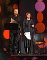Nick Offerman and Megan Mullally, Sundance 2014 (cropped).jpg