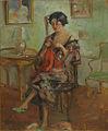 Nicolae Vermont - Femeie in interior.jpg