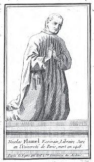 Nicolas Flamel French alchemist