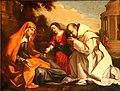 Nicolas Mignard, Sainte Anne, la Vierge et un chartreux.jpg