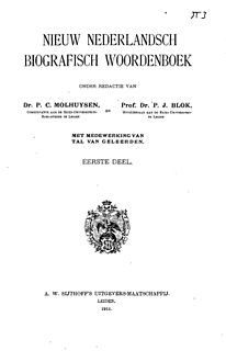 Dutch biographical reference work