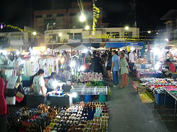 Krabi Walking Street/Nightmarket