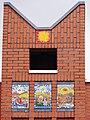 Nijmegen Hatert Elimkerk, 4 mozaïeken van Ted Felen, 1962.jpg