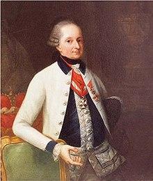 Prince Nikolaus Esterházy, Haydn's most important patron (Source: Wikimedia)