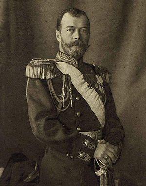 Nicolas II en 1913