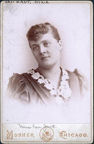 August Spies - His wife by proxy Nina Van Zandt