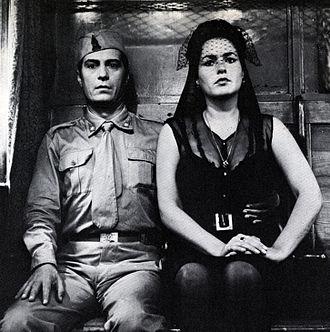 Nino Manfredi - Manfredi  and Fulvia Franco in L'amore difficile (1962)