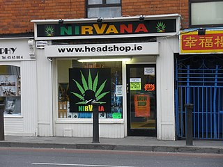 Head shop Retail outlet for cannabis and tobacco products