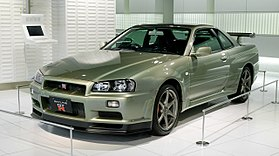Lovely Nissan Skyline R34 GT R Nür 001