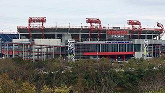 Nissan Stadium - Nissan Stadium in 2017