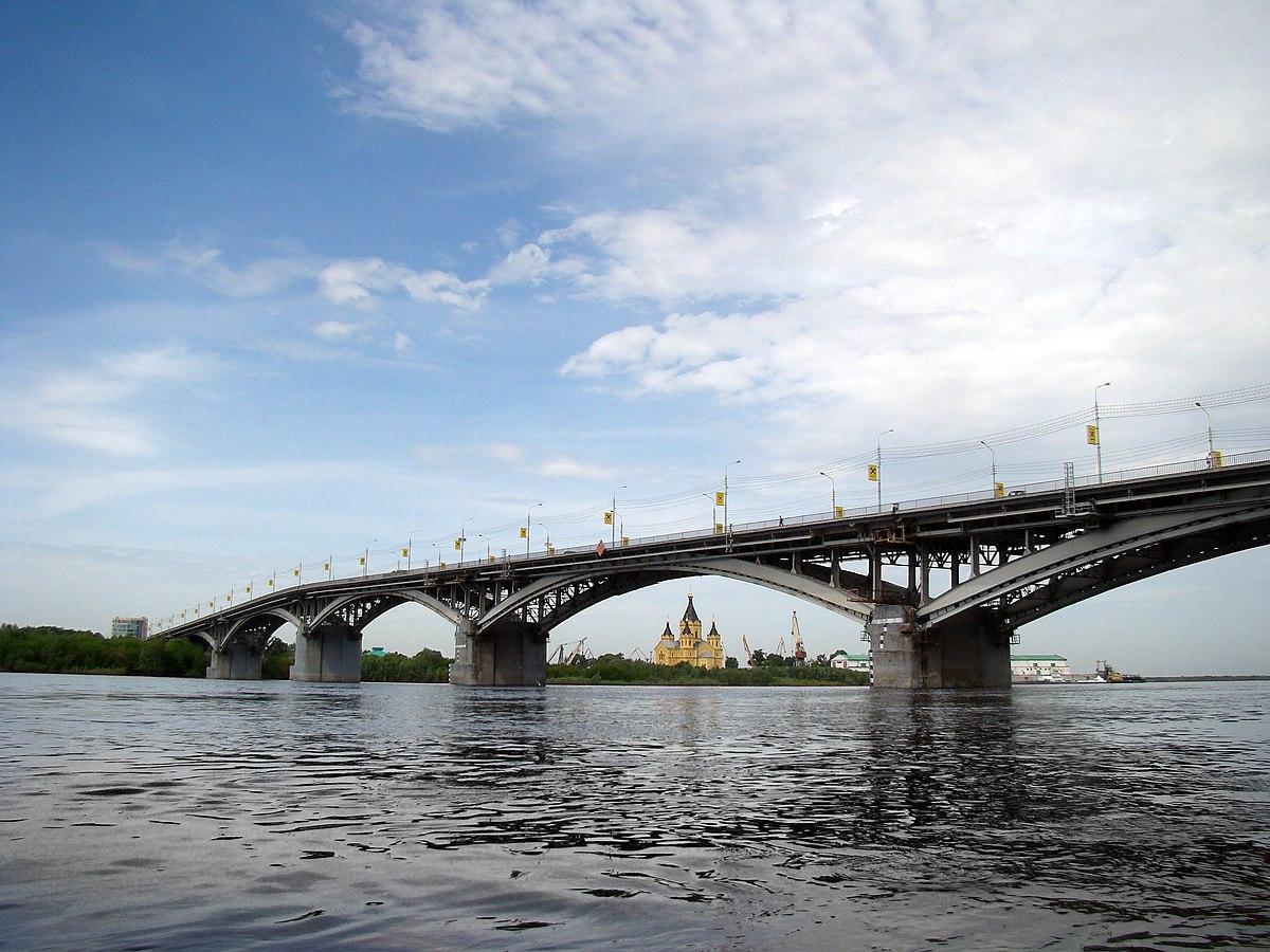 Нижегородские мосты — Википедия