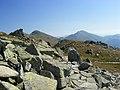 Nizke Tatry, hiking the main ridge - Chopok (left) ^ Ďumbier (right) - panoramio.jpg