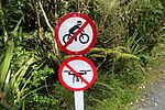 No drones allowed in Westland Tai Poutini National Park (22974487119).jpg