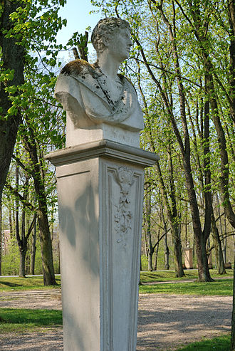 Lucius Porcius Cato - Bust of Lucius Porcius Cato at Nordkirchen, Germany