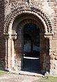 Norman doorway, Round Chapel, Ludlow Castle - geograph.org.uk - 1745704.jpg
