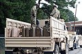 North Carolina National Guard Soldiers prepare for support operations for hurricane Florence in Youngsville NC. (42866549070).jpg