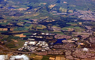 Westfield, Cumbernauld - Westfield from the air