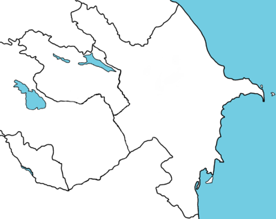 Northern Artsakh in Azerbaijan districts map ARM.png