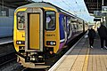 Northern Rail Class 156, 156471, Liverpool South Parkway railway station (geograph 3786953).jpg