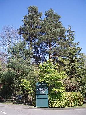Forestry Commission - The entrance to Northern Research station