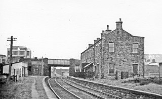 Workington Central railway station Disused railway station in Cumbria, England