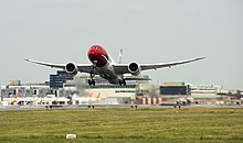 Norwegian's 787 Dreamliner at London Gatwick.jpg