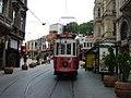 Nostalgic tram-Istanbul.JPG