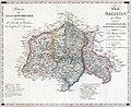 Nowa Galicja Mapa - Końskie - Radom - Józefów - Opatów 1803.jpg