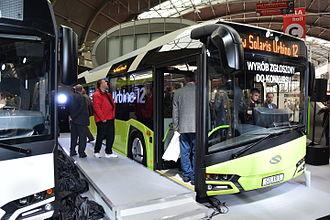 Solaris Urbino - New Solaris Urbino - premier in Transexpo 2014 in Kielce.