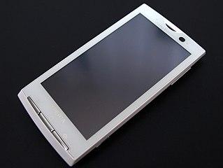 Sony Ericsson Xperia X10 smartphone model