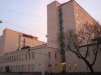 Helsinki Metropolia University of Applied Sciences - Nursing department of Metropolia represents functionalism.