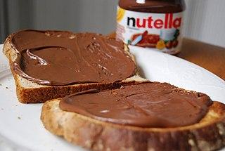 Nutella Chocolate hazelnut spread manufactured by Ferrero