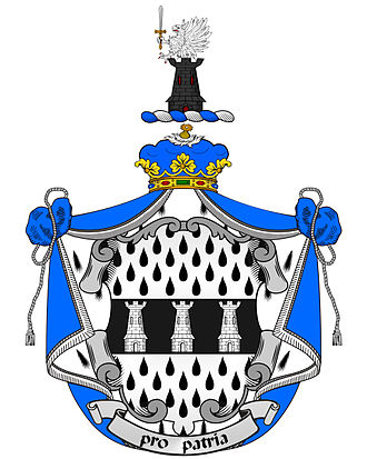 O'Higgins family - Image: O'Higgins of Ballynary Coat of Arms. Spain 1788 and 2011. Cronista de Armas de Castille y Leon