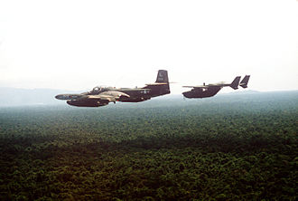 24th Special Operations Wing - A 24th TASS O-2A and an Illinois ANG OA-37B over Honduras, 1984.