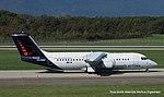 OO-DWE Avro RJ100 RJ1H - BEL (15413908170).jpg