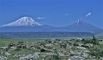 Mount Ararat - View from Turkey