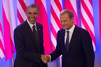 Donald Tusk - Tusk with Barack Obama, 2013