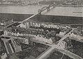 """Oberkassel aufgenommen aus dem Parseval-Luftschiff """"Charlotte"""" zur Städteausstellung in Düsseldorf von Hoffotograf Julius Söhn, 1912.jpg"""