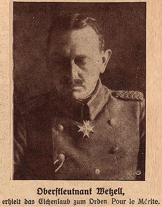 Truppenamt - Image: Oberstleutnant Georg Wetzell